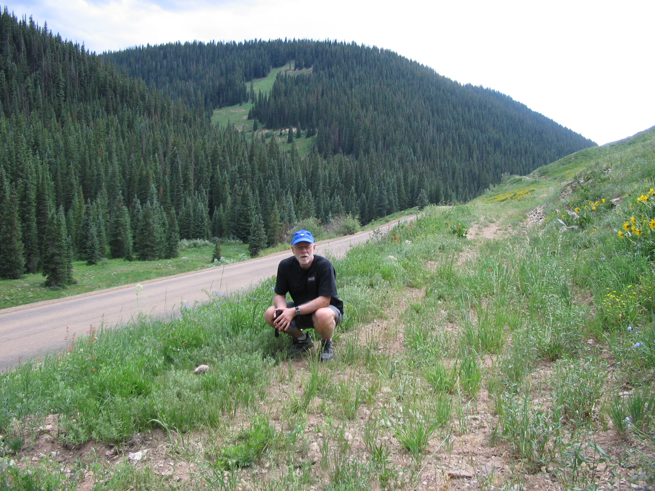 Keebler Pass in Colorado