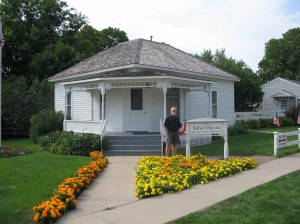 John Wayne's birthplace.  Winterset, Iowa
