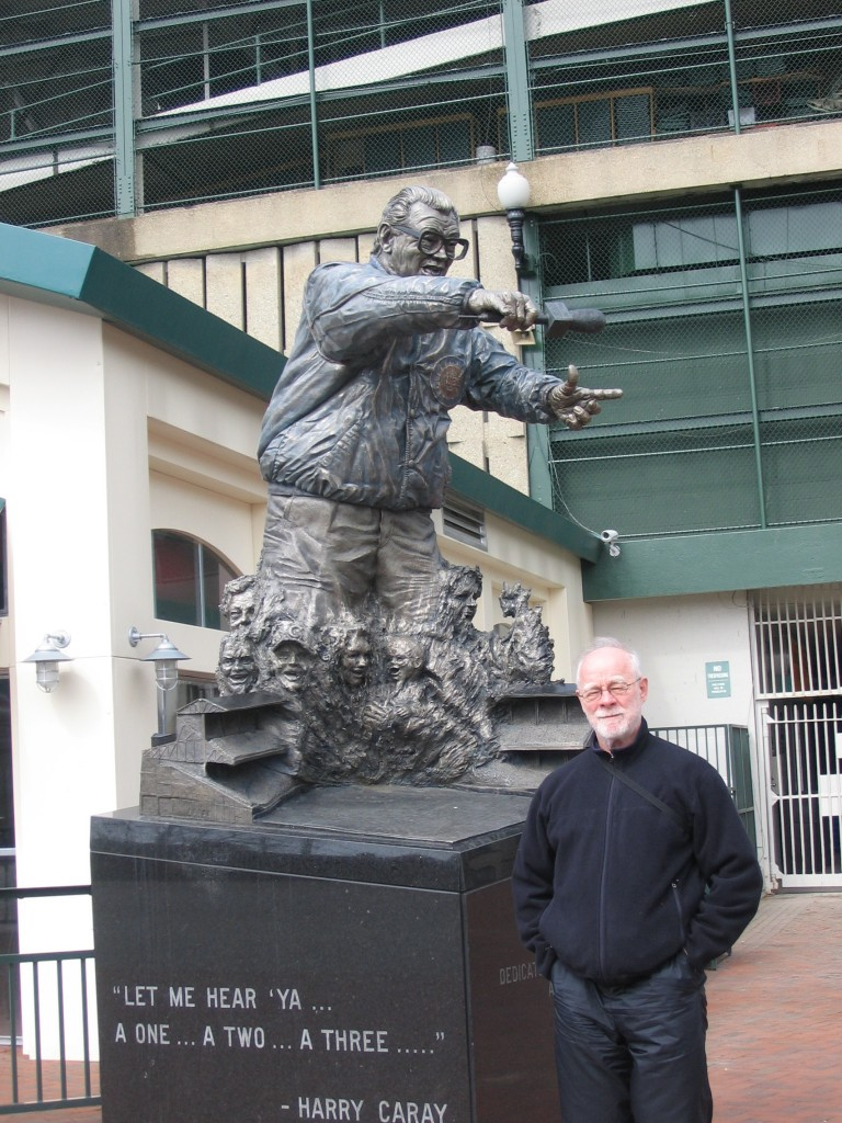 Donald L. Vasicek at Wrigley Field in Chicago