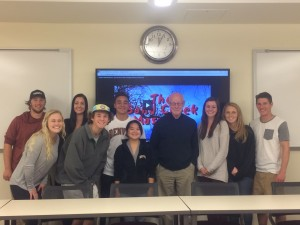 Award-Winning Filmmaker Donald L. Vasicek with University of Denver class